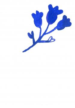 bloem14blauw